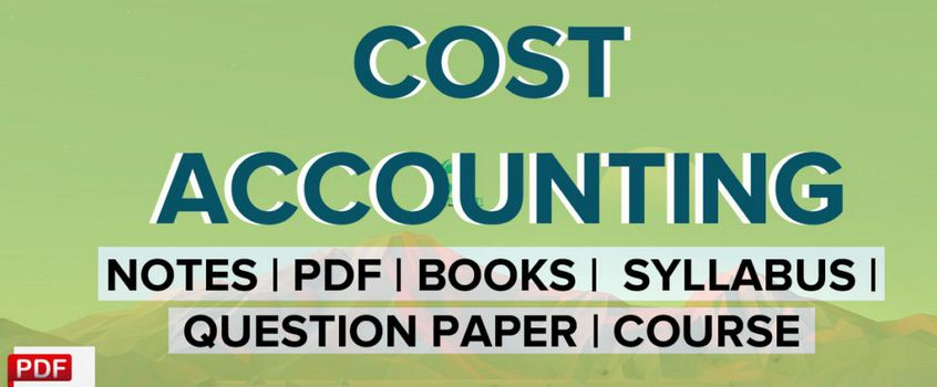 knec Cost Accounting notes revision kits past papers block release